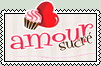 Amour Sucre Stamp by iAsura