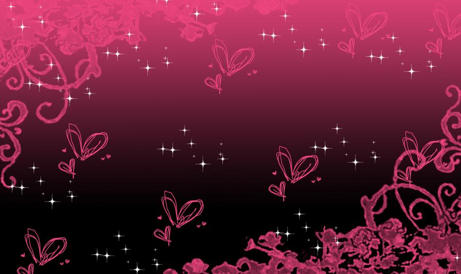 pink and black background by SakuraKiel