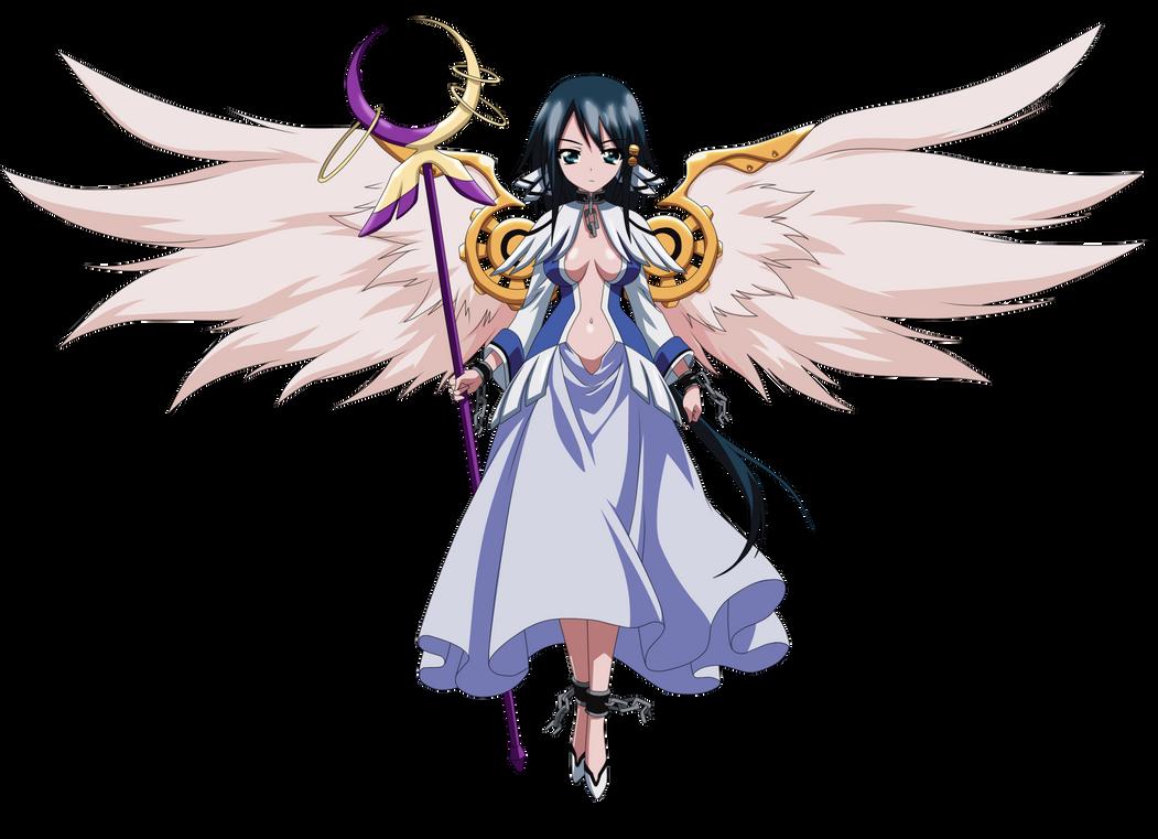 Kazane Hiyori angel by SakuraKiel
