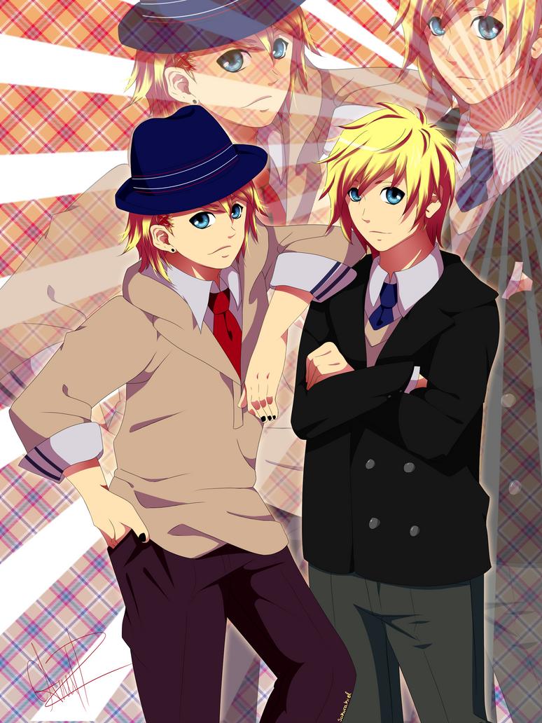 Kurusu Twins by SakuraKiel