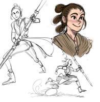 Rey  by theblacklightning