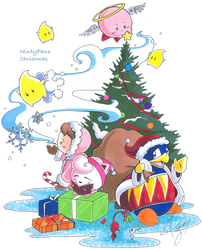 Christmas Day by Cozigiraffe