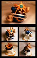 Magolor Clay Model by Cozigiraffe
