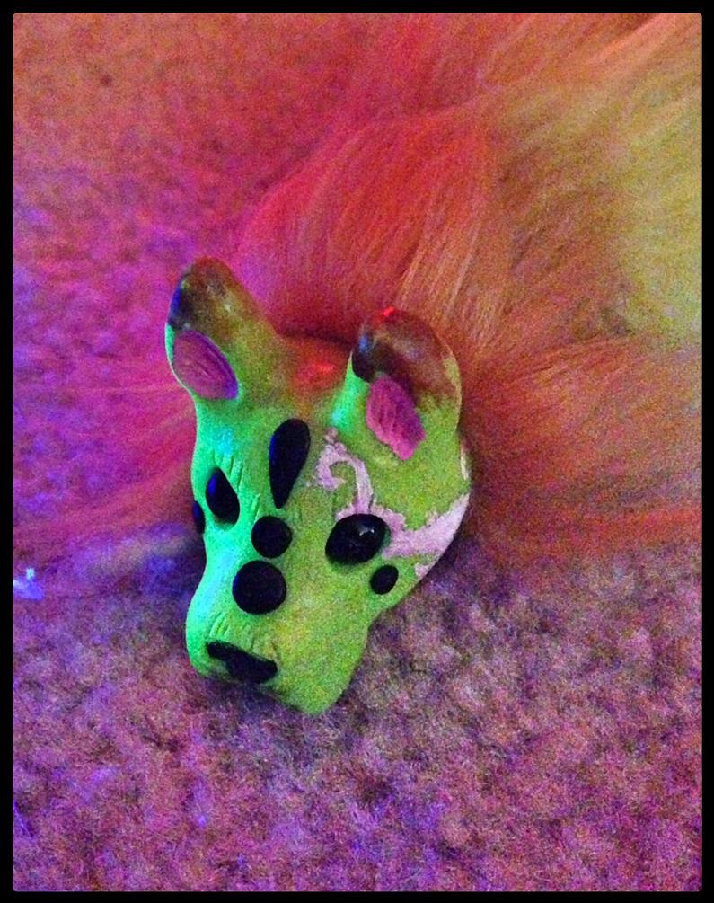 Technicolour PitBull by TigrisTheLynx