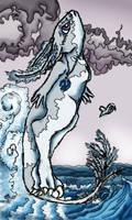 Blue Heart Ocean by TigrisTheLynx