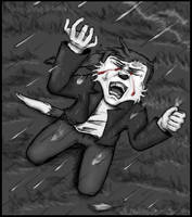 Tigville: Crying in the Rain by TigrisTheLynx