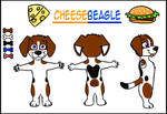 Cheesebeagle Ref by TigrisTheLynx