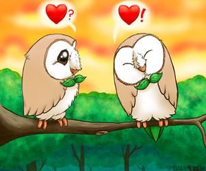 LoveBirds by TigrisTheLynx