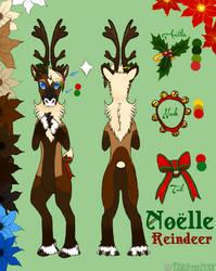 Noelle Ref by TigrisTheLynx