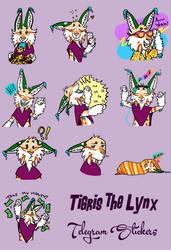 Tig Telegram Stickers by TigrisTheLynx