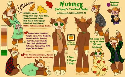 Nutmeg Ref by TigrisTheLynx