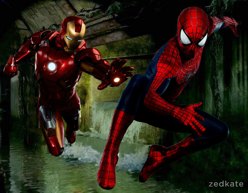 CIVIL WAR MOVIE - Spider-Man VS Iron Man by Zedkate on ...