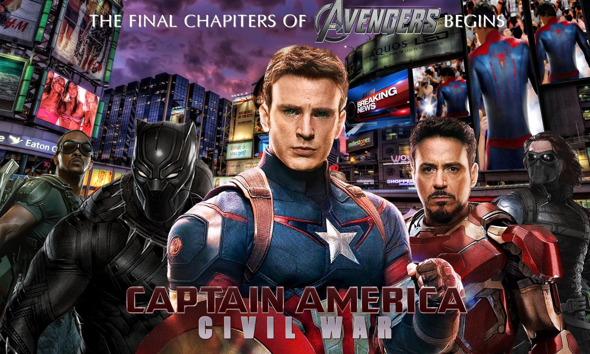 Marvel S Captain America Civil War Poster By Zedkate On Deviantart