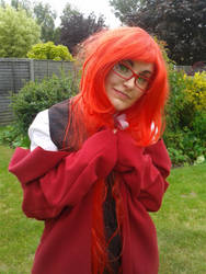 Grell Sutcliff Cosplay - Attempt 1