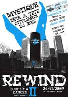 Poster Rewind 2009 by VectoriusTanne