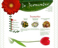 Sitedesign Flowershop 'De Poma