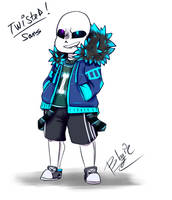 Tiny Twisted!Sans by BlaziePanda