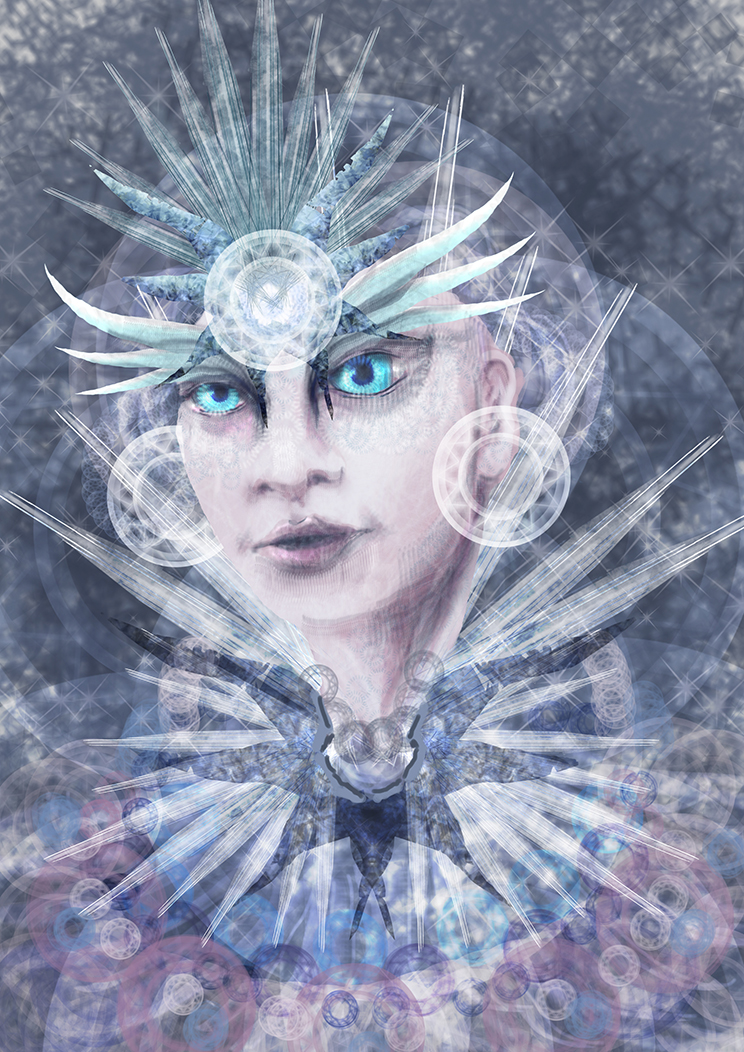 Ice Queen Web by kawa-rimono