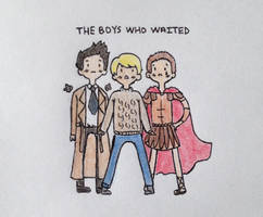 The Boys Who Waited by nerdymoosechild