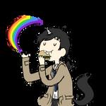 Cas The Unicorn by nerdymoosechild