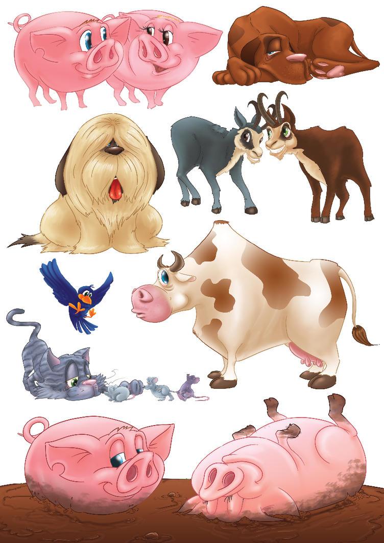 Animals 01 by Piter83