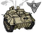 Red Alert 2 Battlefortress by ilageater