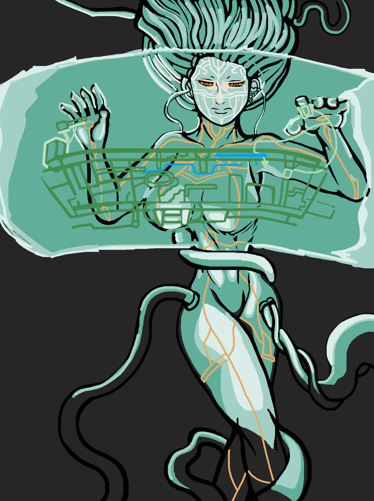 System shock S H O D A N by ilageater on DeviantArt