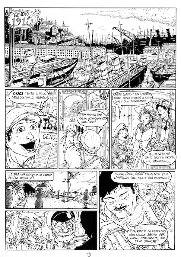 Pagina 1 - The Flight of Oraci by Av3r