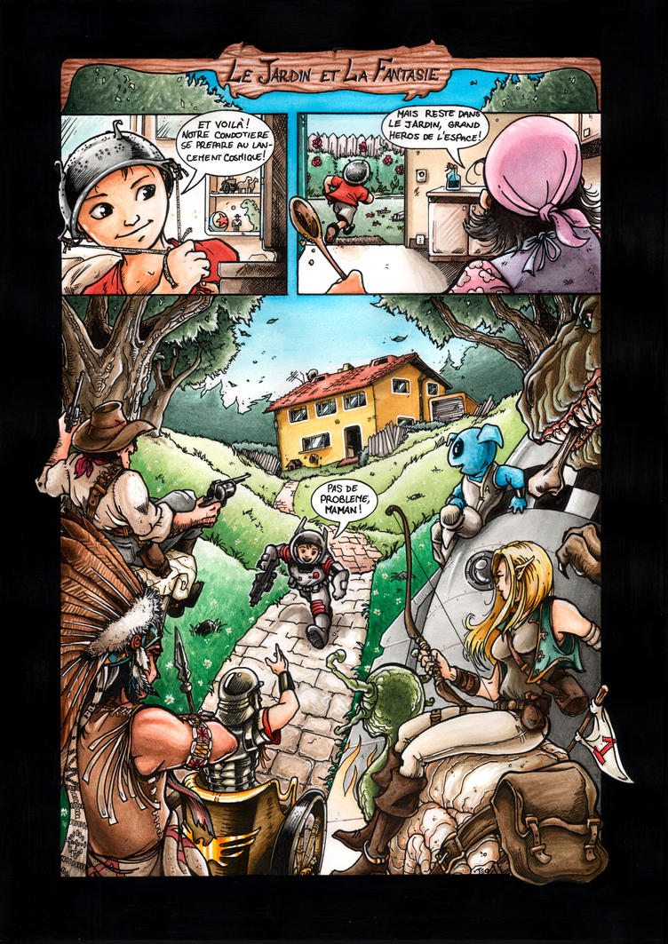 Le Jardin et la Fantasie by Av3r