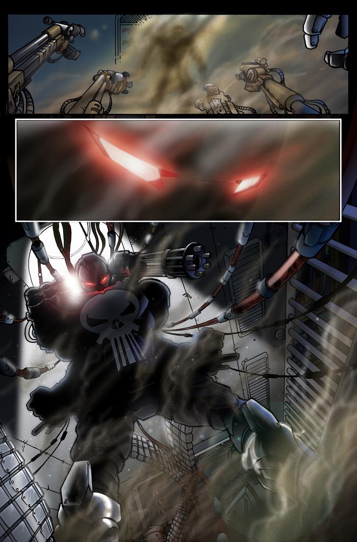 Iron Punisher revealed by Av3r