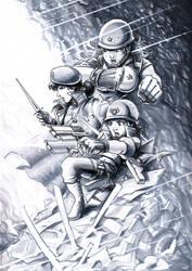 Soldiers - Wardolls by Av3r
