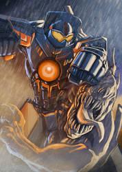 PACIFIC RIM TRIBUTE - Gipsy Danger VS Kaiju