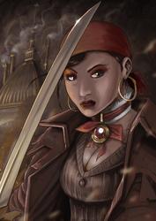 Steampunk tribute for Vaporosamente