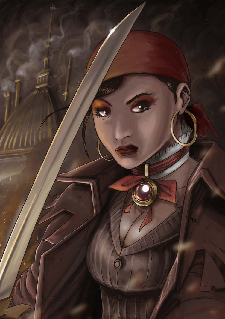 Steampunk tribute for Vaporosamente by Av3r