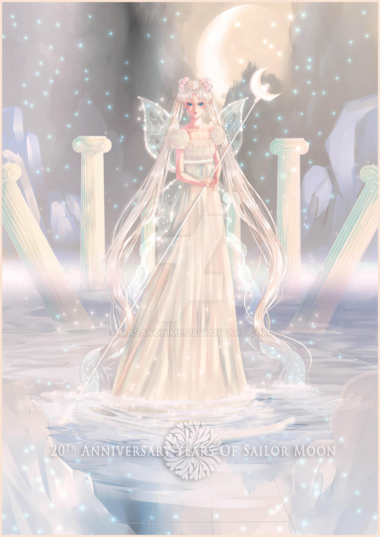 Princess Serenity by MasakoHime