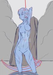 Rei Ayanami WIP