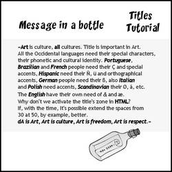 TITLES TUTORIAL by mik-68
