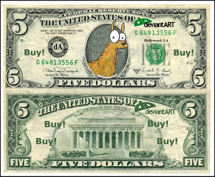 New DollarLlamaPoints by mik-68