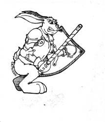 War Bunny by DethTek