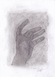 Hand practice 1 by Sivilala