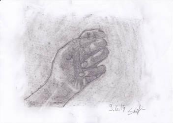 Hand practice 2 by Sivilala