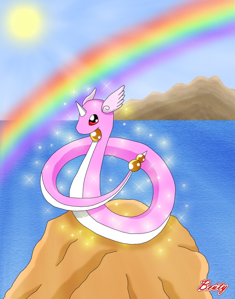 Mythic Dragonair by Rose-Beuty