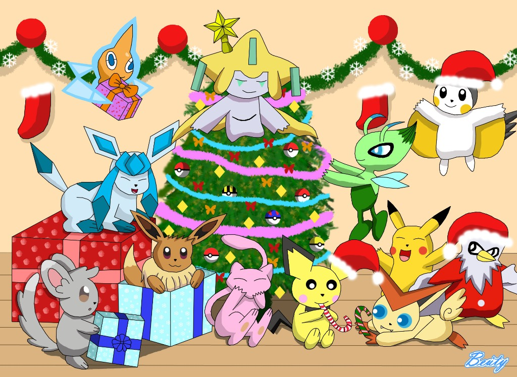 Pokemon Christmas Present (Special) by Rose-Beuty