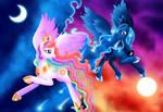 Celestia and Luna - Paint the Sky