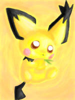 Notched-Ear Pichu by Airenu-ish