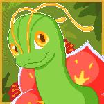 Meganium avatar by Airenu-ish
