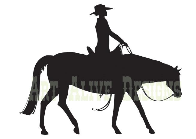 Western pleasure clipart - photo#8