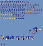 Sonic 4 Episode 1 Retro Sprites