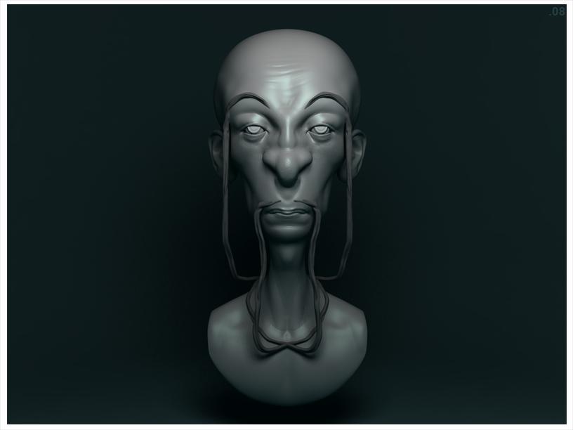 Sculpt Bust 04 by Eiight