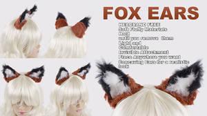 Fox Ears Kitsune Cosplay